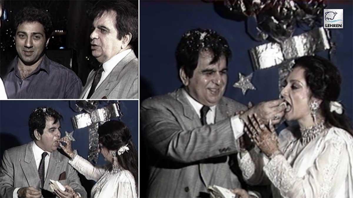 When Dilip Kumar And Saira Banu Celebrated 25th Wedding Anniversary In A Grand Way