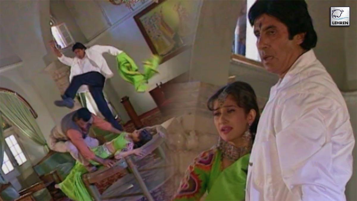 Amitabh Bachchan, Amrish Puri, Shilpa Shetty Shoot For 'Lal Baadshah'
