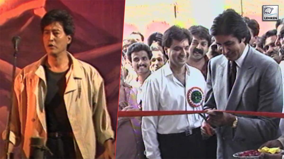 Amitabh Bachchan At Muhurat Of 'Bondhu' And Opening Of Danny Denzongpa's Studio