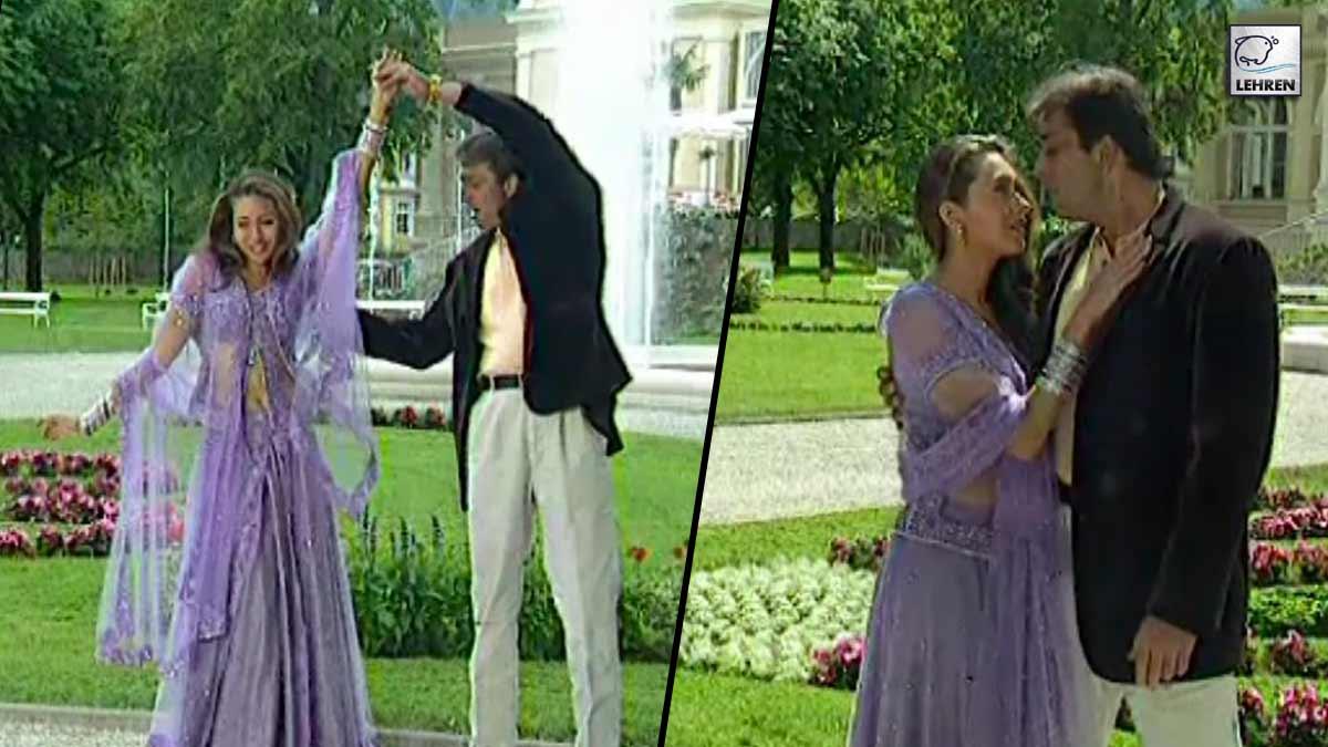 Chal Mere Bhai' On Location Featuring Sanjay Dutt, Karishma Kapoor