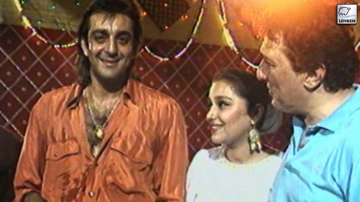 Sanjay Dutt On The Sets Of 'Meri Aan' (1993)
