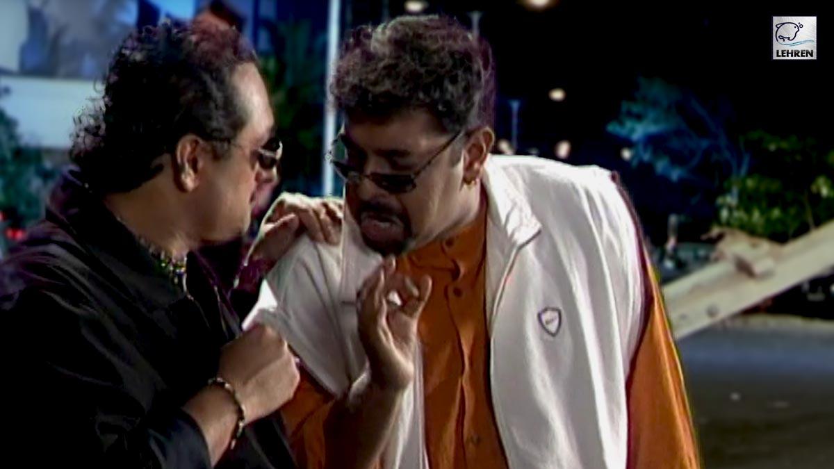 Shooting Of 'Chal Mere Bhai' Song (2000) Featuring Shankar Mahadevan, Lesle Lewis