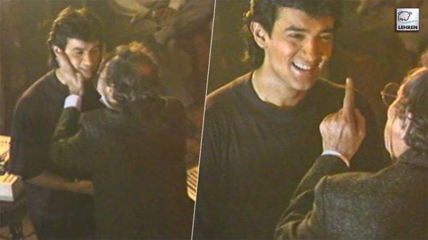 Making Of Unreleased Film 'Time Machine' (1992) Featuring Aamir Khan, Shekhar Kapur