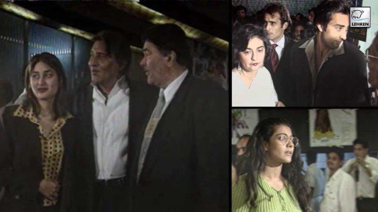 Grand Premiere Of Akshaye Khanna's Debut Film 'Himalay Putra' (1997) Also FT. Vinod Khanna, Hema Malini
