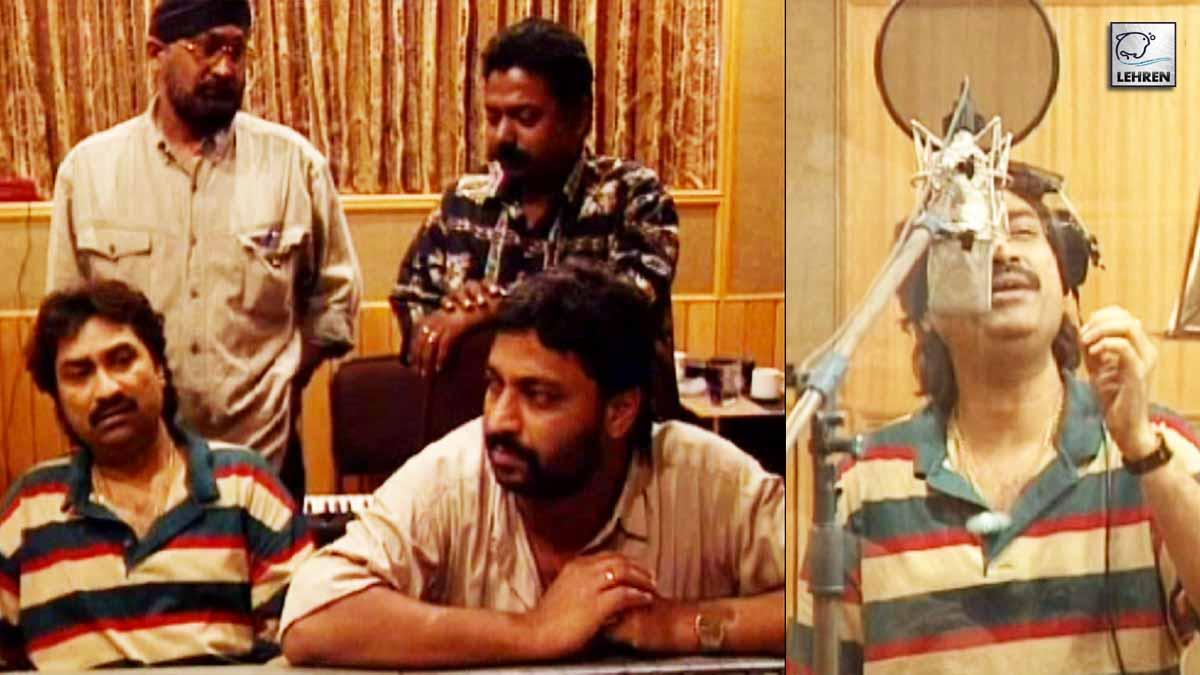 Kumar Sanu Recording For Album 'Humsafar' (1996)