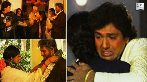 Making Of 'Izzatdaar' (1990) Featuring Govinda, Dilip Kumar, Madhuri Dixit