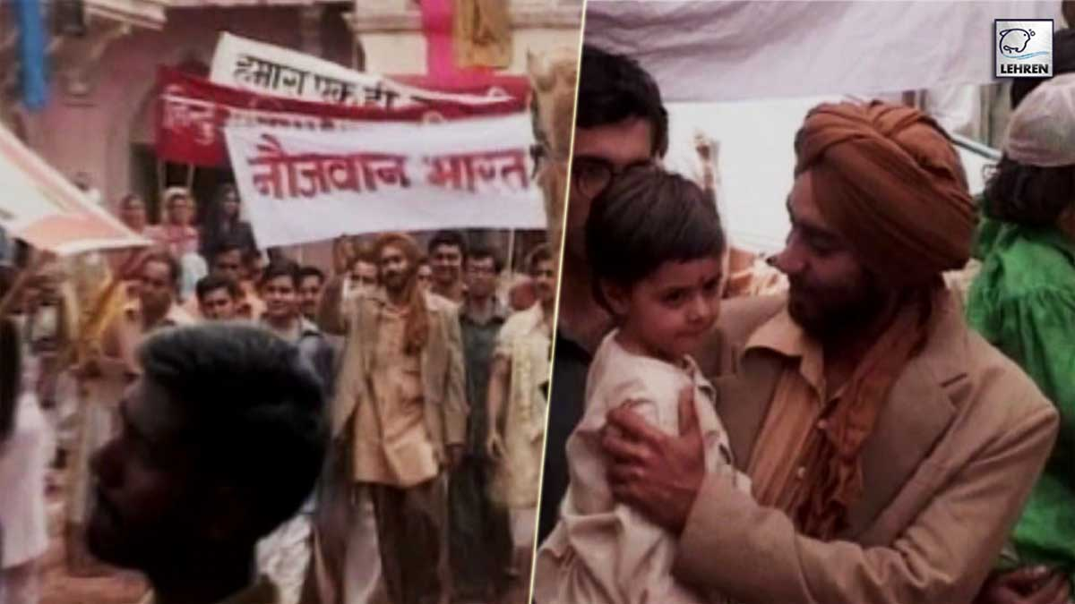 Ajay Devgan, Amrita Rao Interviewed During The Making Of 'The Legend Of Bhagat Singh' (2000)