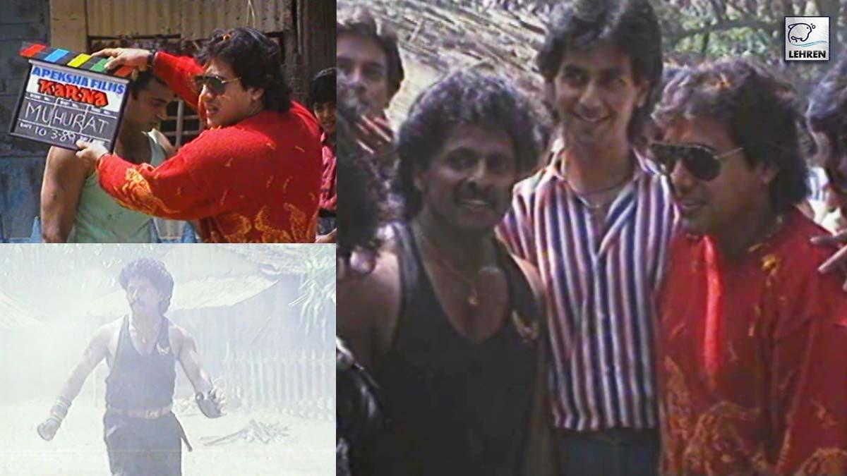 Govinda Gives The Muhurat Clap Of 'Karna' FT. Yagneesh Shetty