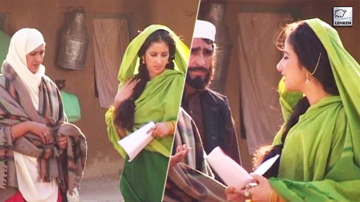 Manisha Koirala On The Sets Of 'Escape From Taliban' (2003)