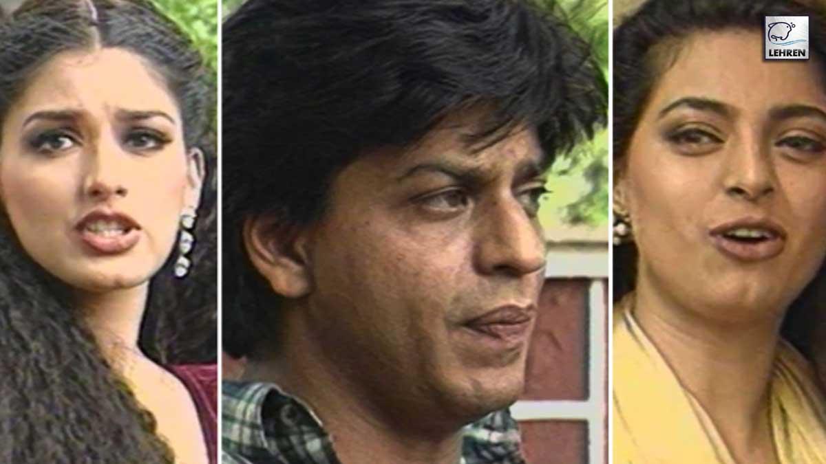 Shahrukh, Sonali, Juhi Shoot For 'Duplicate'