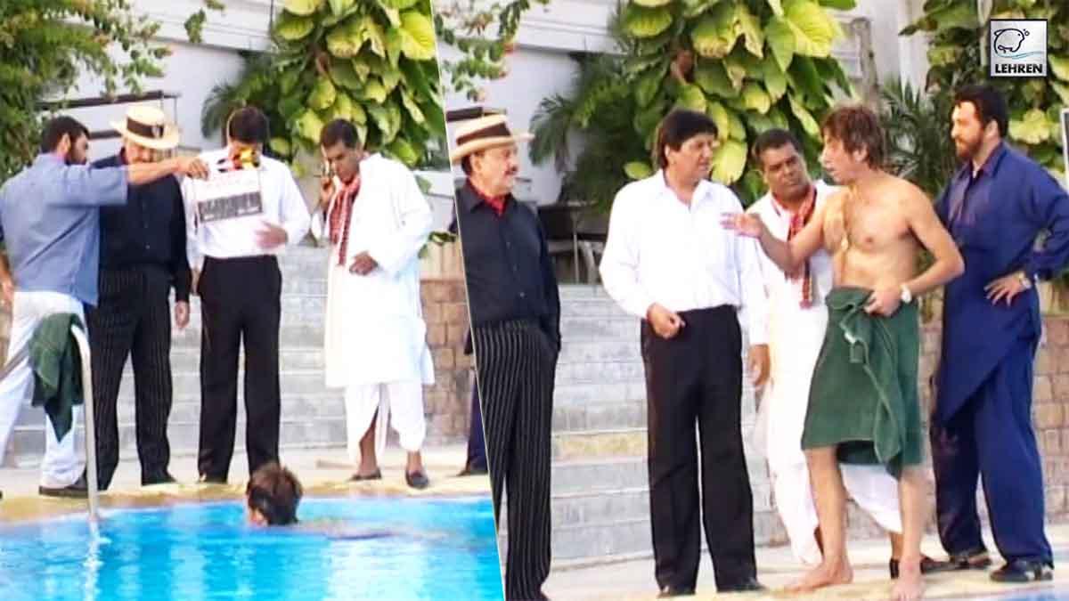 Prem Chopra, Ashish Vidyarthi, Shakti Kapoor Shoot For 'Shikaar' (2004)