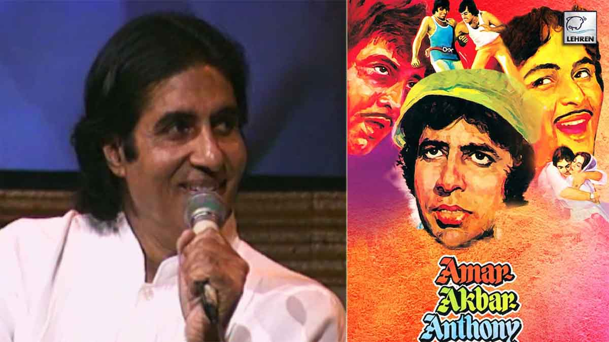 Amitabh Bachchan Recalls Funny Stories During The Filming Of Sets Of 'Amar Akbar Anthony'