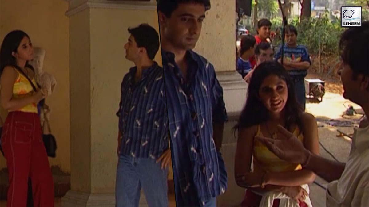 Shooting Of 'Pyaar Mein Kabhi Kabhi' (1999) Starring Dino Morea, Rinke Khanna