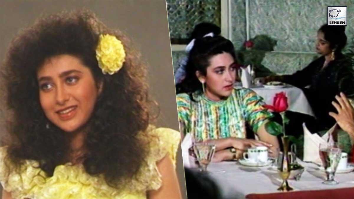 Karisma Kapoor's Interview Before Her Debut In Films (1990)