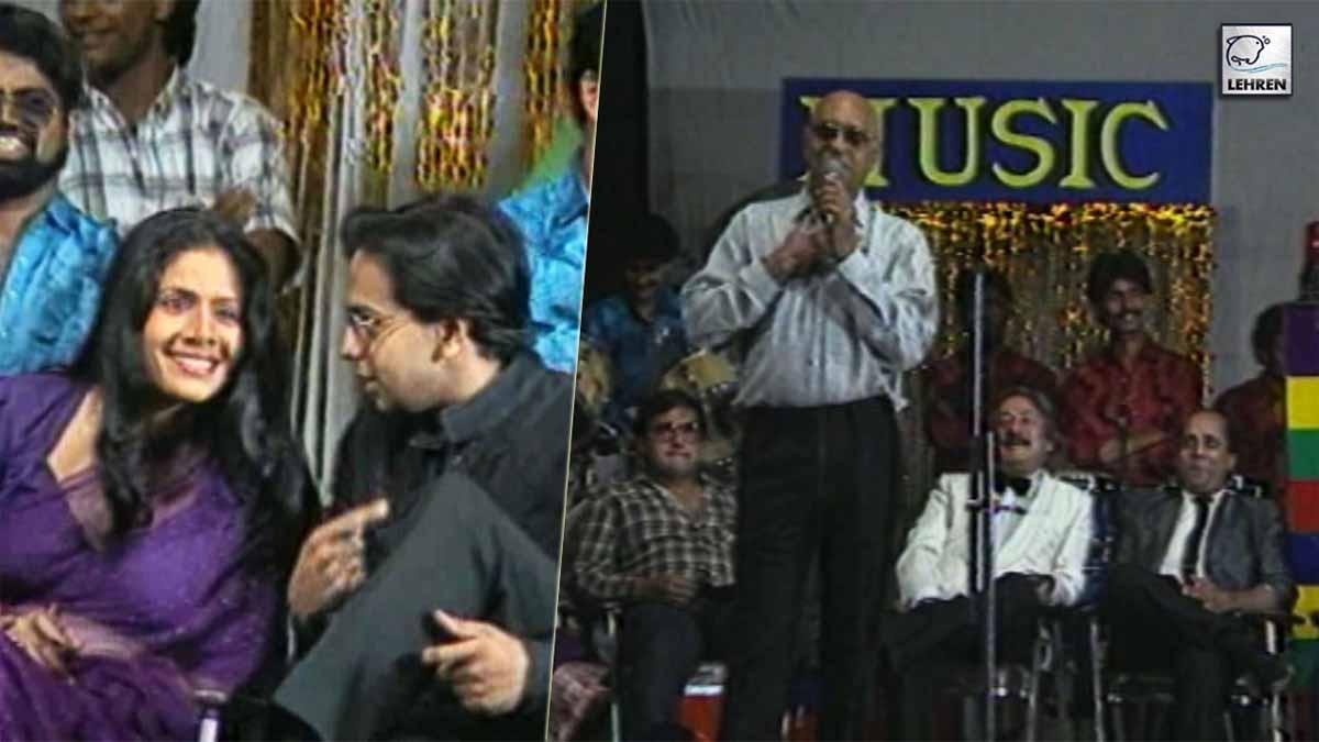 Amrish Puri Felicitates Neena Gupta, Rakesh Bedi And Other Celebs At The Mogambo Music TV Awards Function