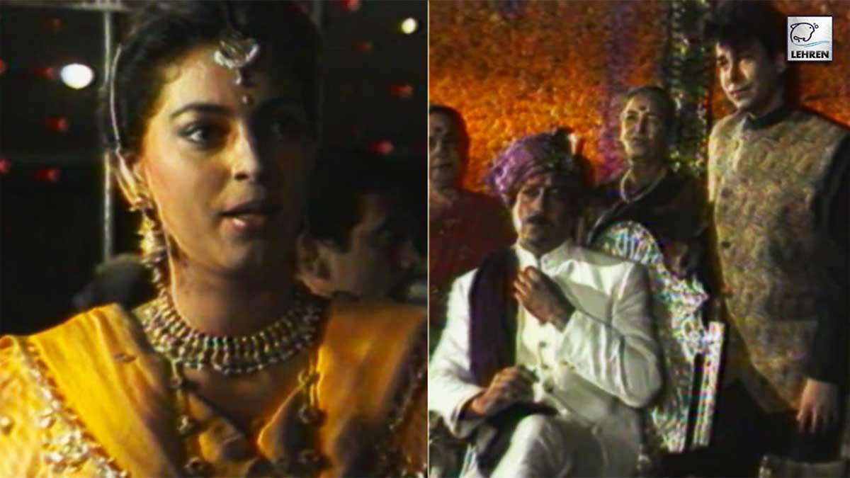 on-sets-aaina-film-shooting-jackie-shroff-juhi-chawla