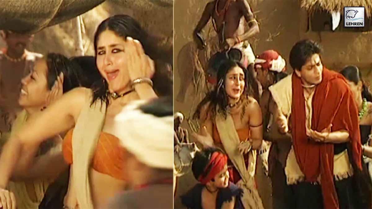 film-asoka-o-re-kanchi-song-shooting-kareena-kapoor-shahrukh-khan