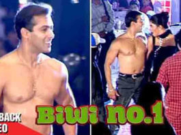 20 Years Of Biwi No 1: When Salman Khan Was Seen Roaming Shirtless On the Sets