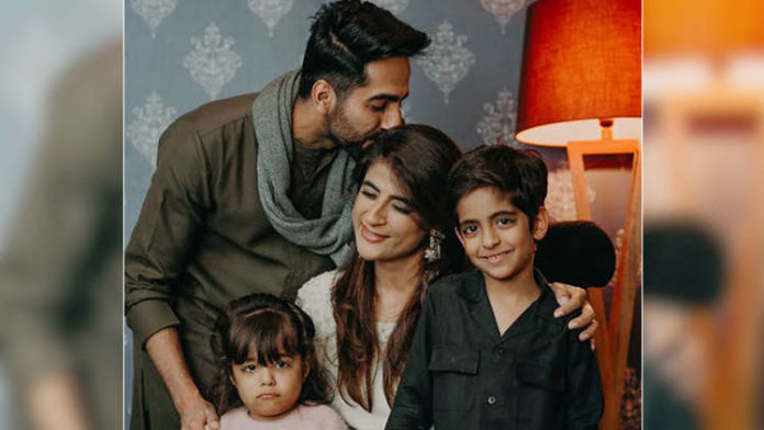 Ayushmann Khurrana talks about the FIRST time he became dad!