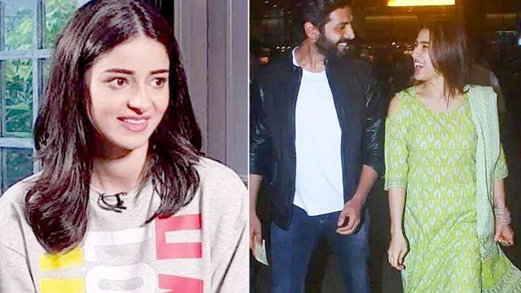 Here's what Ananya Panday has to say about Sara Ali Khan and Kartik Aaryan