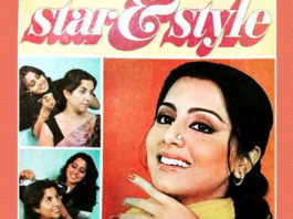 When Neetu Kapoor used her hairdresser's hand for a magazine cover shoot