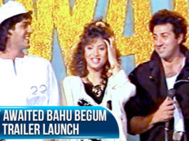 Sunny Deol and Divya Bharti at the launch party of their movie Vishwatma | Flashback Video