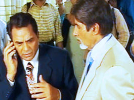 When Amitabh and Dharmendra played the phone call prank | Flashback Video