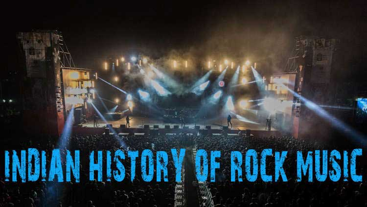 Looking back at the history of rock music in India