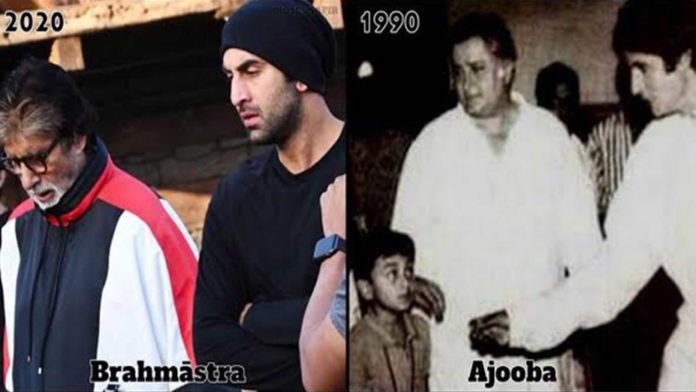 Amitabh Bachchan Continuous To Praise His Brahmastra Co-Star Ranbir Kapoor; Shares A Throwback Picture