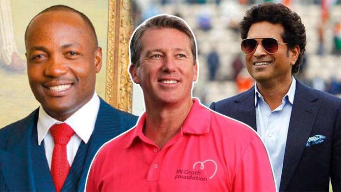 Sachin Tendulkar Or Brian Lara Whom Did Glenn McGrath Choose?