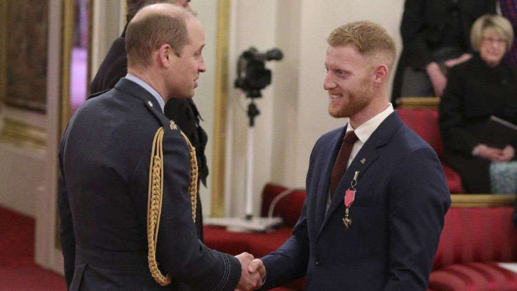 Ben Stokes Bestowed With A Royal Honor At The Buckingham Palace