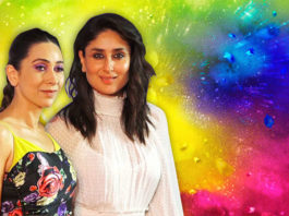 Kareena And Karisma Advices Their Fans To Play Safe Holi