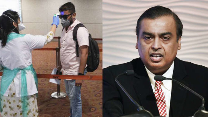 Coronavirus outbreak: Mukesh Ambani becomes poorer by Rs 24,000 crore in a day