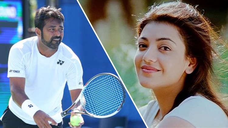 Is Tennis Star Leander Paes Dating Kajal Aggarwal?