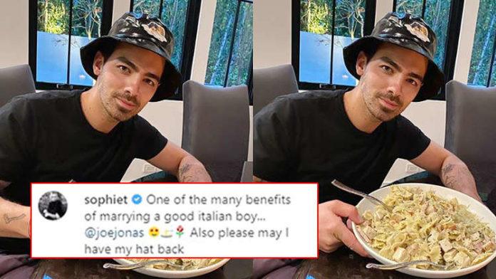 Joe Jonas Turns Cooks Yummy Farfalle Pasta Meal For Wife Sophie Turner
