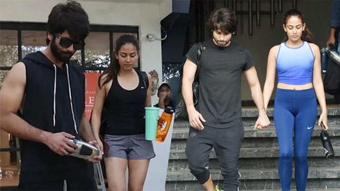 Shahid Kapoor And Mira Rajput CAUGHT In A Gym Amid Coronavirus Lockdown