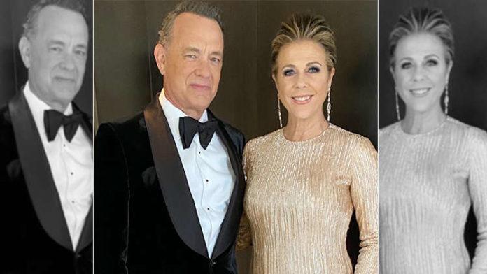 Tom Hanks And Rita Wilson Return To Los Angeles