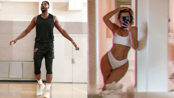 Tristan Thompson Can't Resist Commenting on Khloe Kardashian's Hot Pic