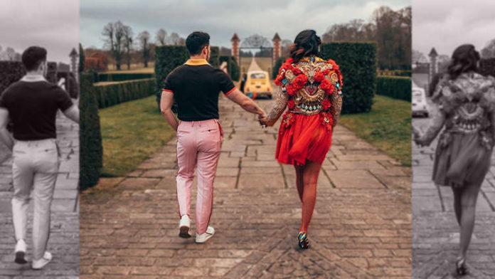 Unseen Pictures of Nick Jonas and Priyanka Chopra From Sucker Video