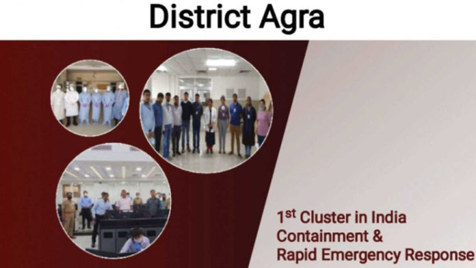 India's first COVID-19 containment cluster in AGRA