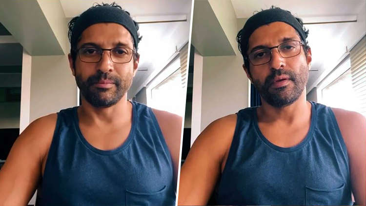 Farhan Akhtar Spreads Awareness In A Poetic Way on COVID-19