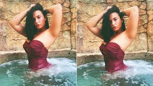 Demi Lovato's Sizzling Pool Pictures Hog The Limelight On Instagram; Check Out