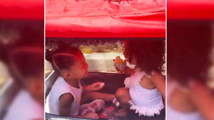 Chicago West Complimenting Cousin Stormi Webster's Hair Is All You Need To Light Up Your Mundane Weekday; Watch