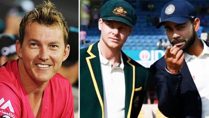 Here's Whom Brett Lee Chose Between Steve Smith & Virat Kohli