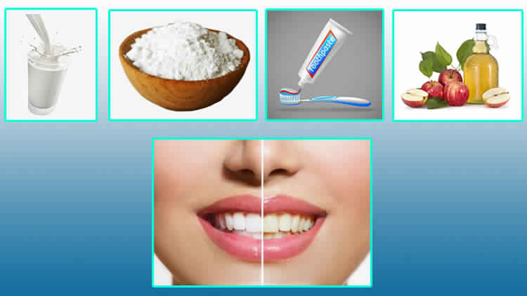 Home Remedies For Whitening Yellow Teeth