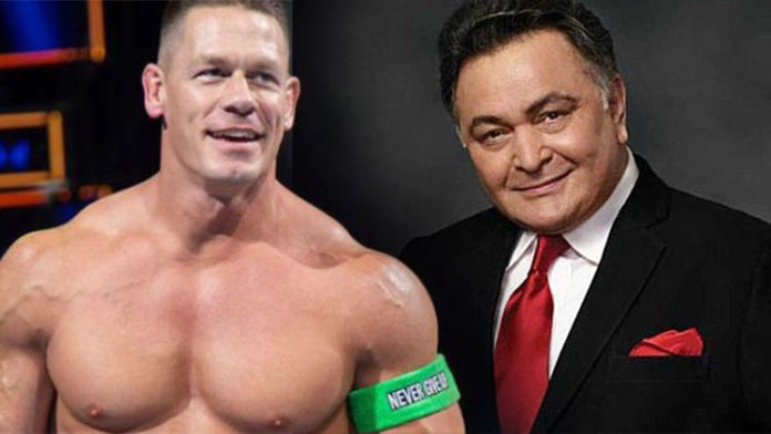 WWE Star John Cena Pays Tribute To Late Actor Rishi Kapoor; Check Out