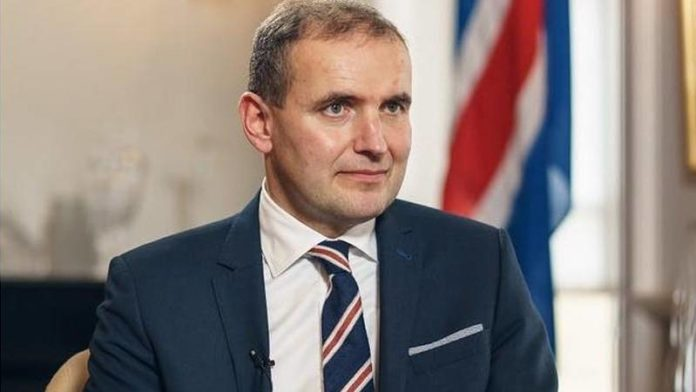 Iceland's President Johannesson re-elected with 92% of the vote