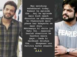 Karan Patel Takes A Dig At Film Fraternities With Example From Mahabharat