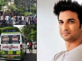 Watch Crowd Gathers Outside Sushant Singh Rajput's Residence