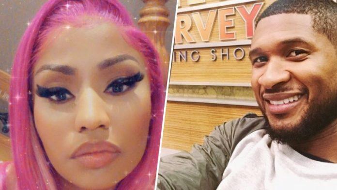 Nicki Minaj Took A Subtle Dig At Usher In The Lyrics Of Her New Song 'Trollz'